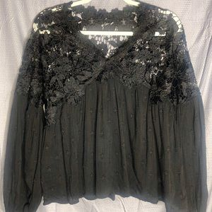 Free People: Lina Lace Top